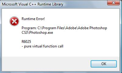 adobe photoshop 7.0 has stopped working windows 7 32 bit